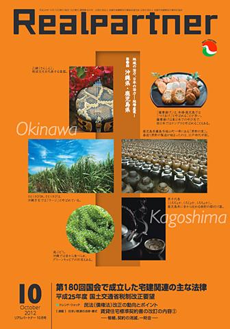 リアルパートナー2012年度年10月号:表紙